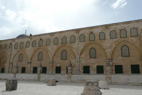 Eastern wall of Masjid al-Aqsa