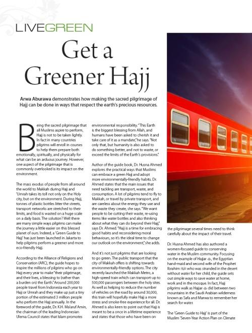 green-hajj-sisters-magazine-arwa-aburawa-environment-islam-muslims-saudi