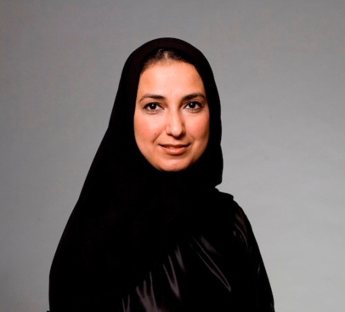 portrait of UAE national woman