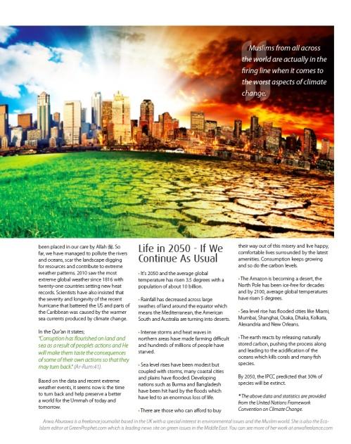 Green Ummah 2 SISTERS magazine