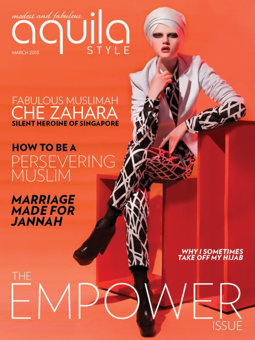 Aquila style empower issue arwa aburawa