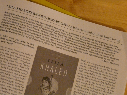 Leila Khaled's Revolutionary Life make:shift magazine