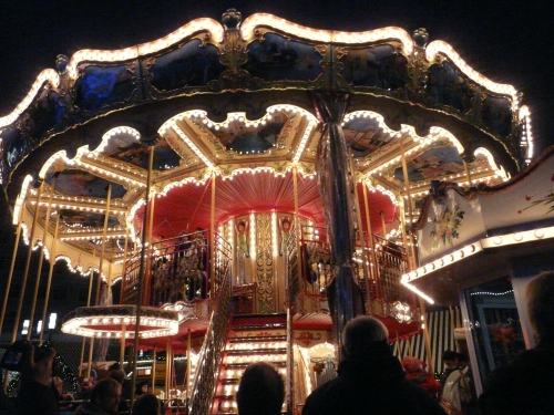 Carousel at Berlin Christmas Market