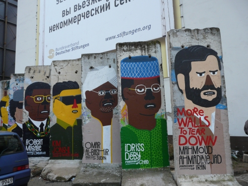 More Walls to tear down - the Berlin Wall and portraits of dictators